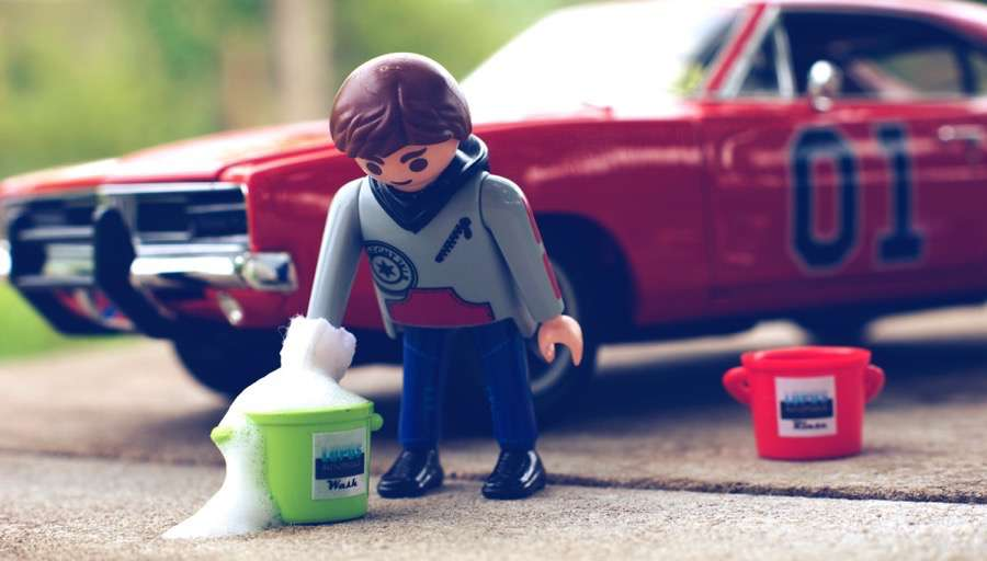 Schonende Wäsche mit Jonny